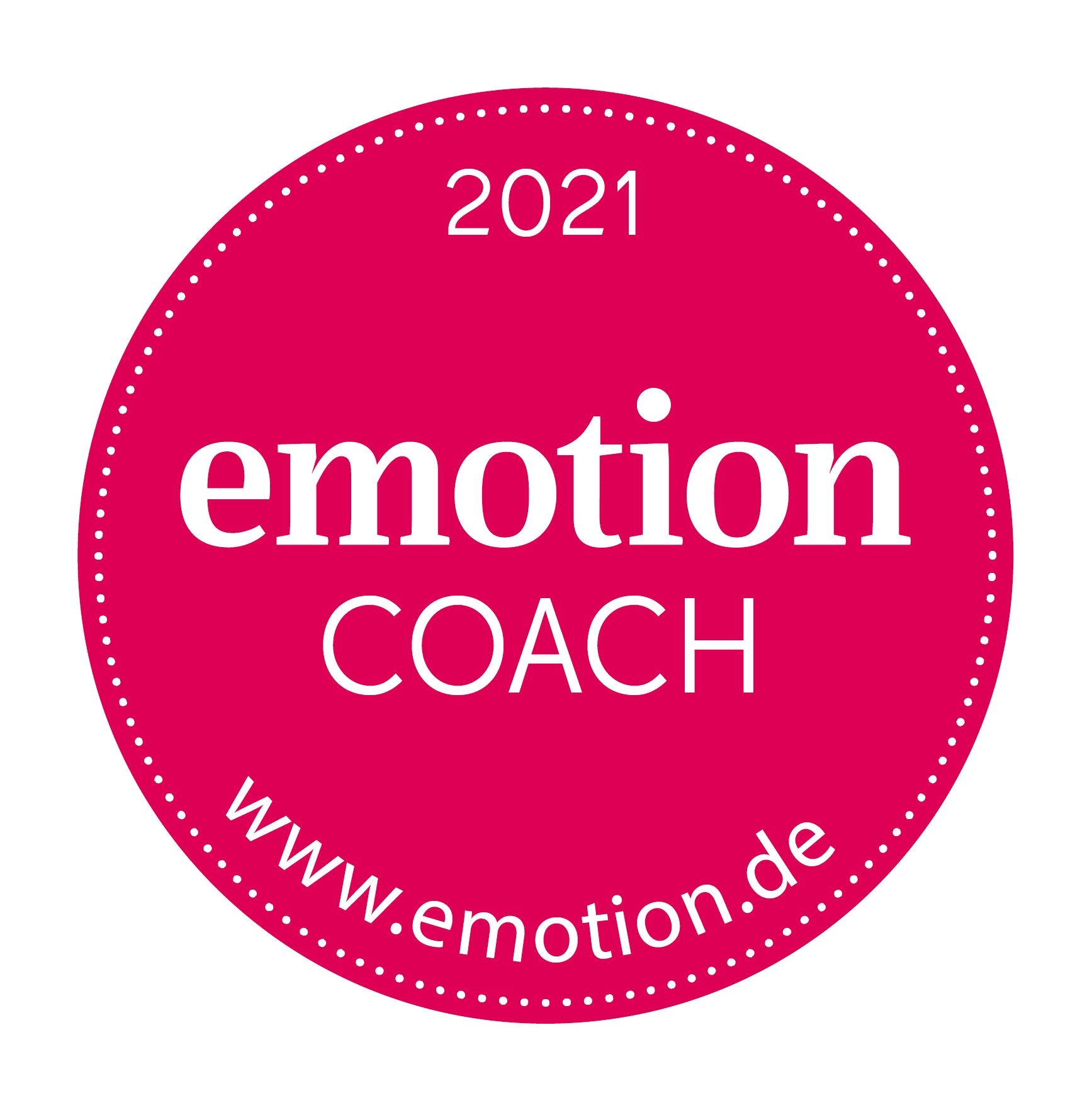 EMOTION-Coachsiegel 2021